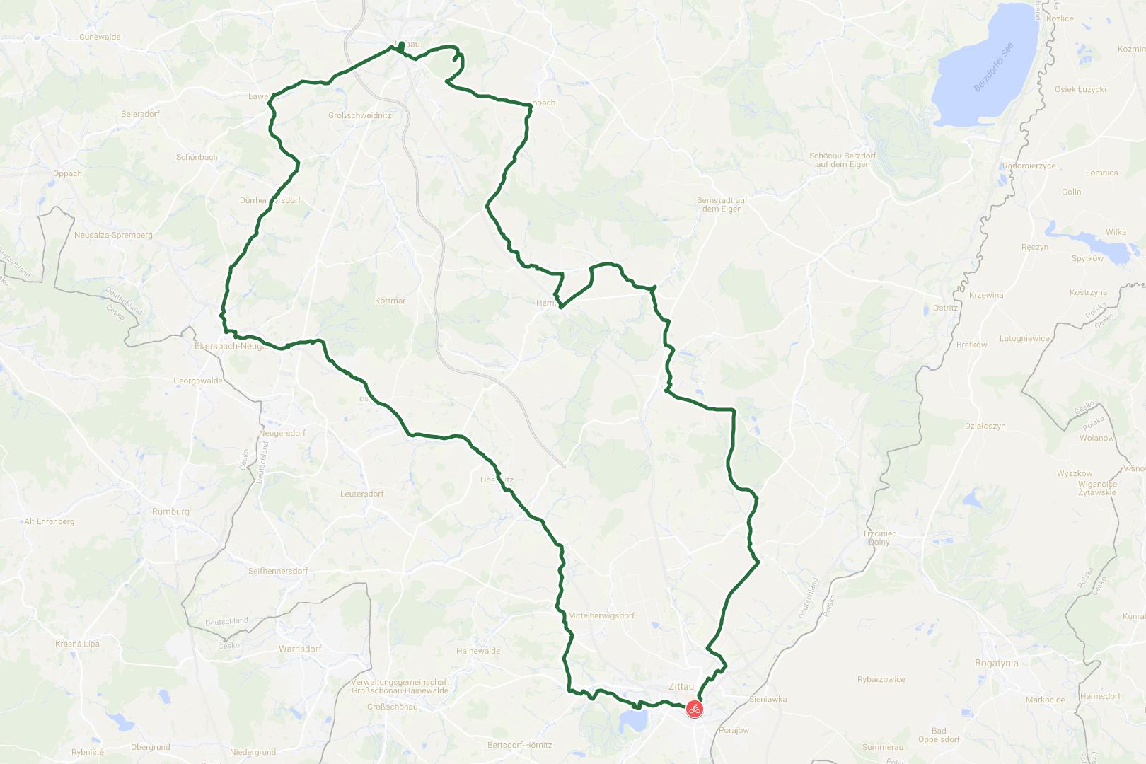 Zittau - Oberlausitz Rundfahrt