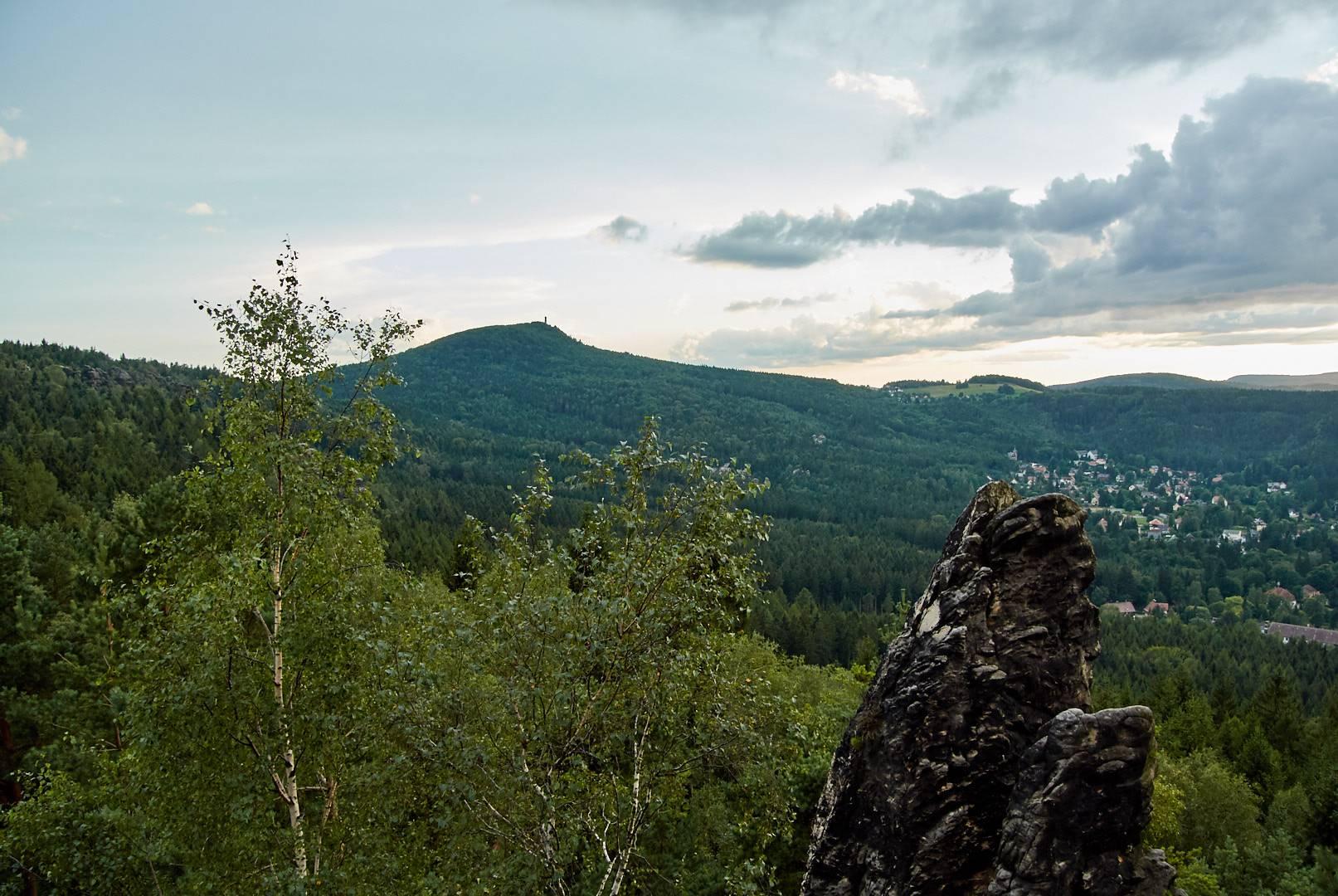 Scharfenstein - Ausblick Hochwald